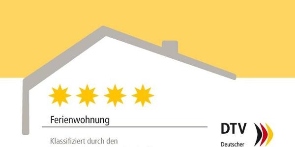 DTV-Kl_Schild_Ferienwohnung_4 Sterne