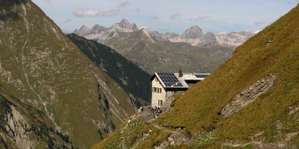 Blick zurück zur Simms Hütte