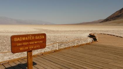 Am Badwater Basin