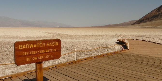 badwater basin natural monument