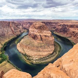 Horseshoe Bend des Colorado River