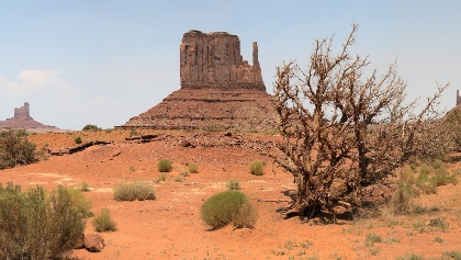 West Mitten Butte at Monument Valley