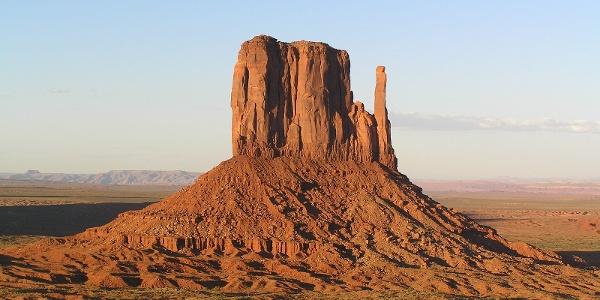 West Mitten Butte at Monument Valley