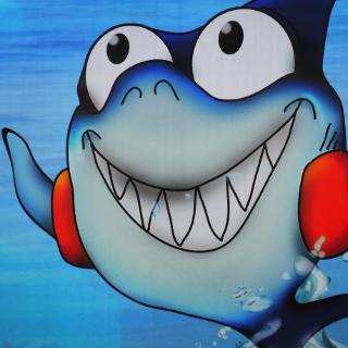Kai der Hai - Maskottchen des Sonnenbades Karlsruhe