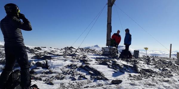 Mallnock ,der erste Gipfel