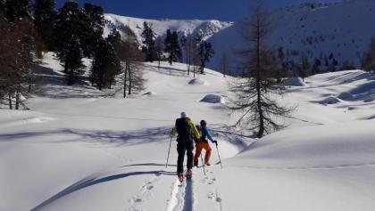 Am Weg zum Klomnock Nordgrat