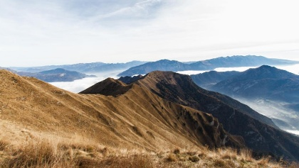 Über den Gipfeln des Valle di Ledro
