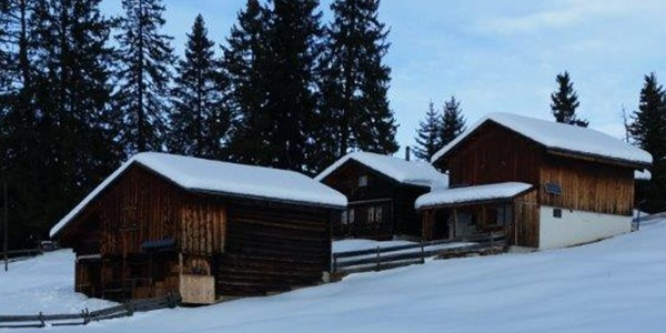 Die idyllische Maiensäss-Siedlung Tratza