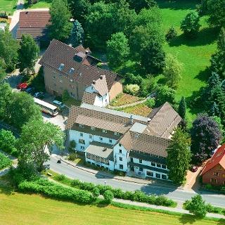 Hotel Zur Burg Sternberg: Luftbild