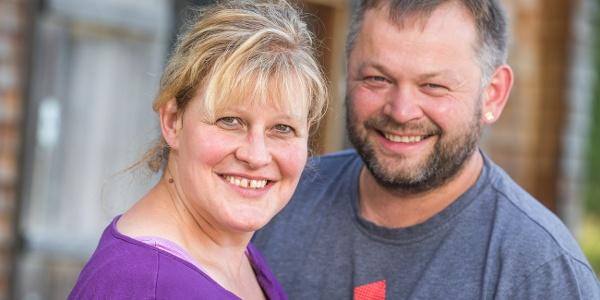 Andrea und Andreas von der Alp Nova
