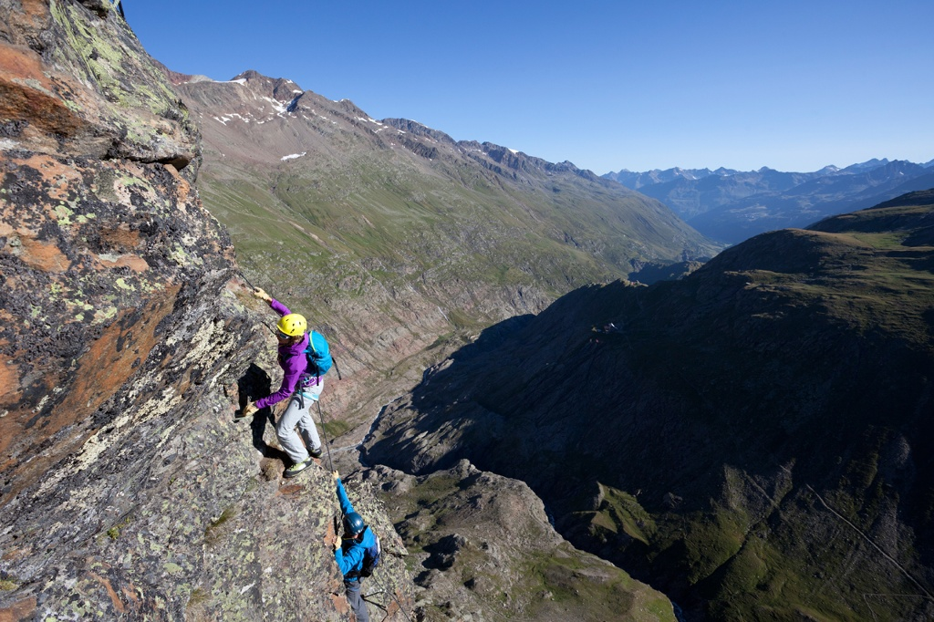 Klettersteig Obergurgl : Klettersteig schwärzenkamm Österreichs wanderdörfer