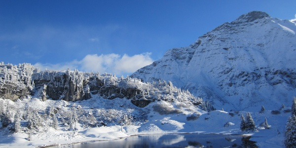 Körbersee im Winter
