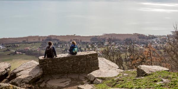 Panorama von dem Ranolder-Kreuz