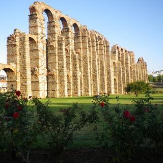 Das römische Aquaduckt von Merida
