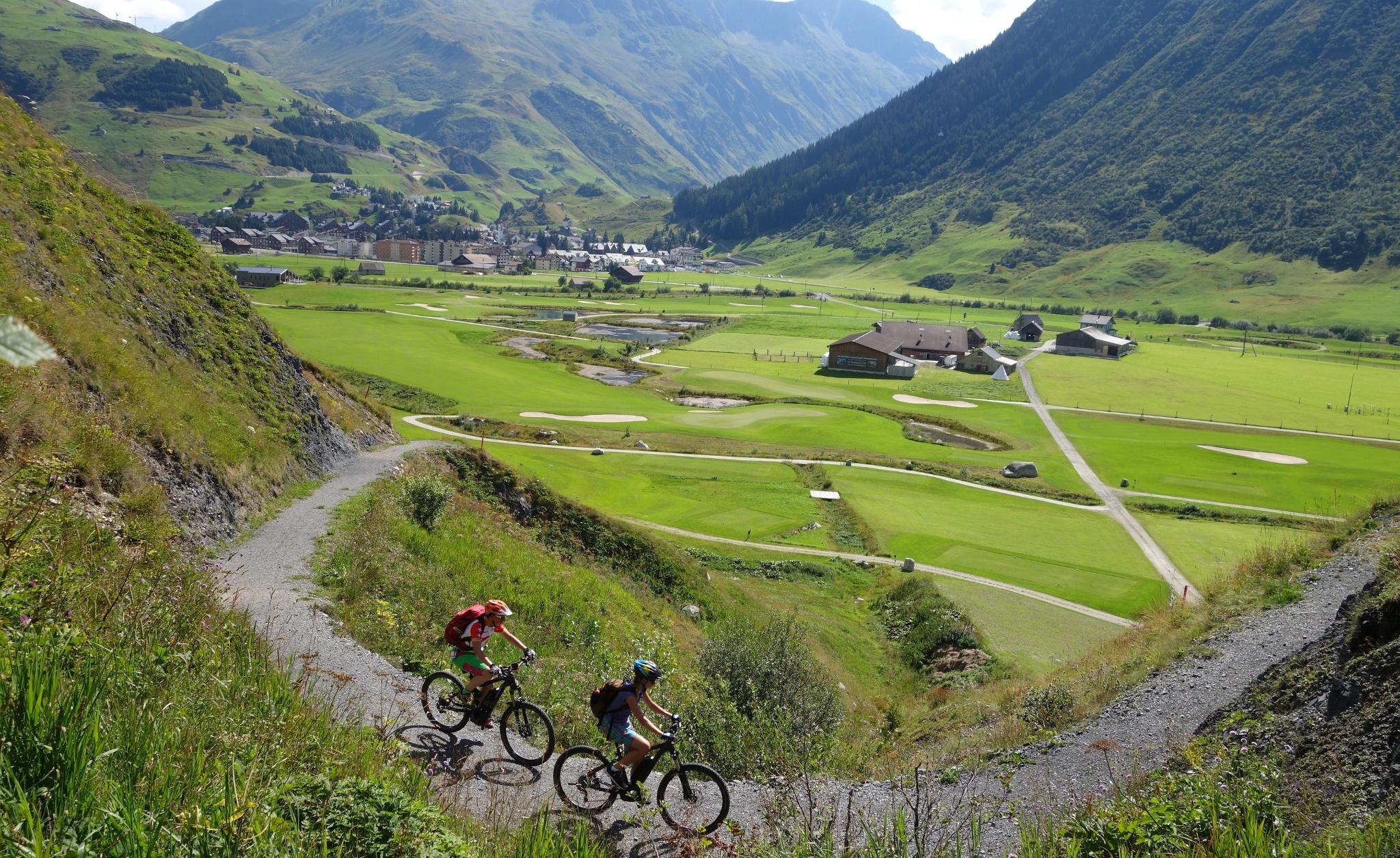 Biketour Urserntal