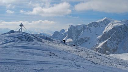 Am Gipfel des Karlhochkogels – im Hintergrund Zagelkogel, Wetzstein und Gr. Beilstein (v.r.n.l.)