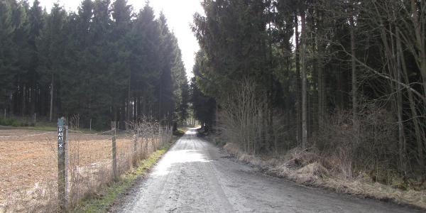 Der A1 und A3 führt hier entlang.
