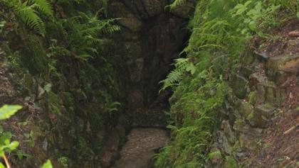 Bergbaulandschaft Hoher Forst - Mundloch Martin-Römer Stolln