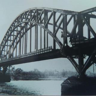Die Ludendorff-Brücke bei Remagen