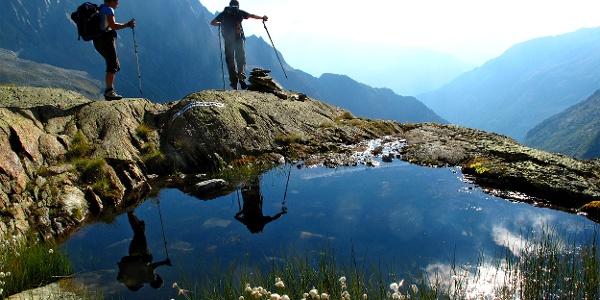 Herrliche Rundtour in alpiner Umgebung.