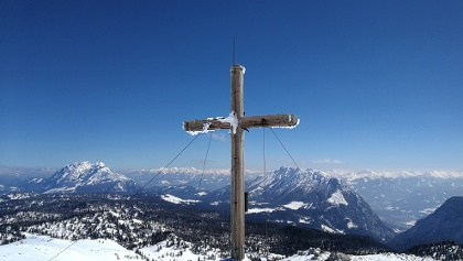 Blick noch Osten - Kammspitze und Grimming