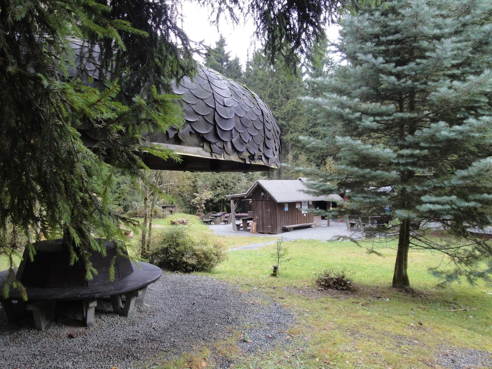 Meilerhütte - Rastplatz mit Imbiss
