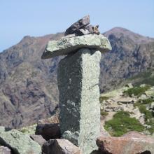 Gipfelmarkierung A Muvrella