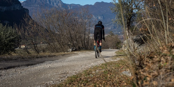 A passage of the descent from Nago to Pratosaiano