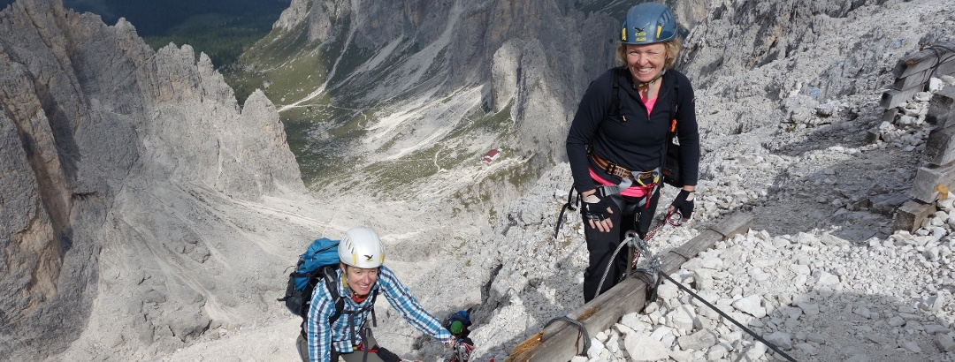 Klettersteigtochten bergsportreizen.nl