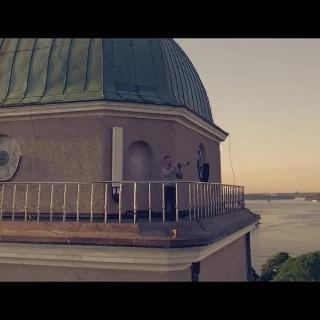 Suomenlinna bei vom Morgengrauen bis zum Sonnenuntergang