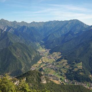 Panoramica sulla Val Concei