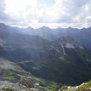 Blick zurück ins Oberstbergtal