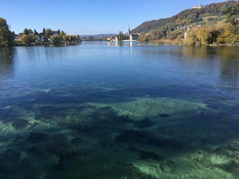 Blick auf Stein am Rhein