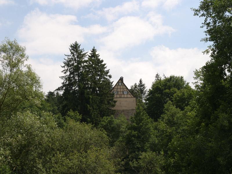 Turmhügelburg von Leinroden   - © Quelle: Gemeinde Abtsgmünd