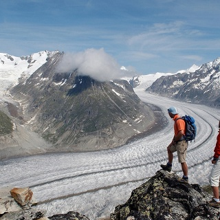 Aletschgletscher, View Point, Eggishorn