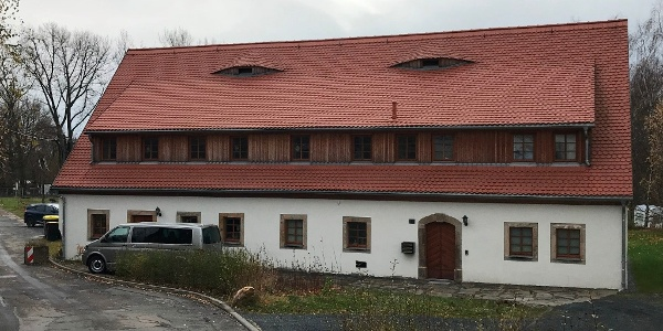 Abraham shaft - Administration and assembly building