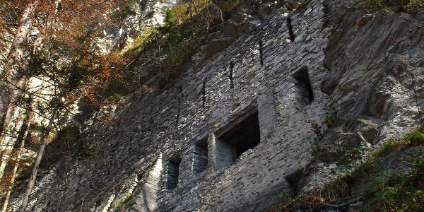 Bunker am Fläscher Leiterliweg.