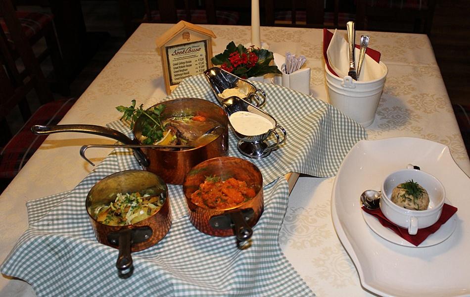 Ausgezeichnete Bayerische Küche mit 3 Rauten