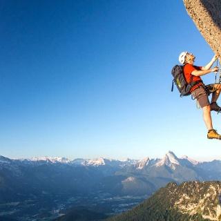 Der Hochthron Klettersteig auf den Untersberg