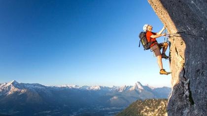 Klettersteig Weibl : Die schönsten klettersteige im berchtesgadener land