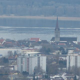 Blick von der Ruine Homburg auf Radolfzell