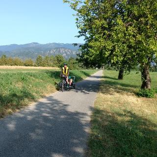 Kurz nach Seravalle Richtung Conegliano