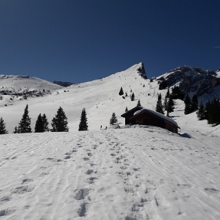 Stuibenhütte und Stuibenkopf