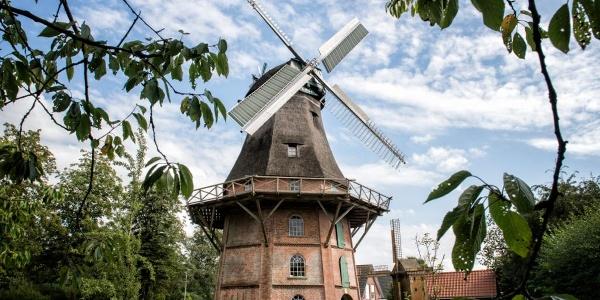 Schiffdorfer Kornmühle - Seit 1864 in ihrer heutigen Form