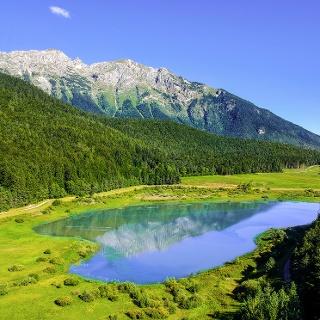 Il laghetto di Andalo