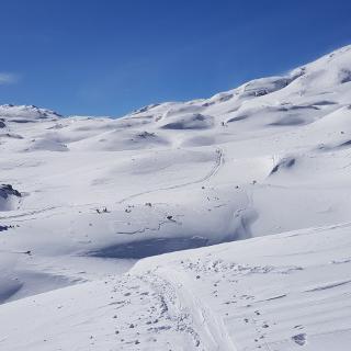 Im Hagengebirge auf dem Weg zum Eisgraben