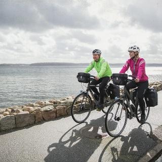 Mit dem Rad unterwegs entlang der Ostseeküste