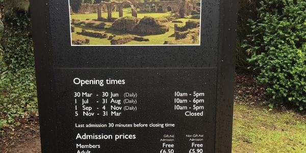 Hailes Abbey admission