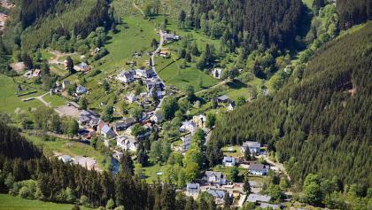 Blick auf Meuselbach-Schwarzmühle