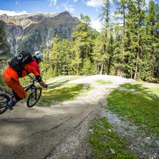 Flow und Spass auf dem Sunnegga-Trail